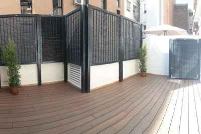 Большая квартира с просторной террасой в Барселоне